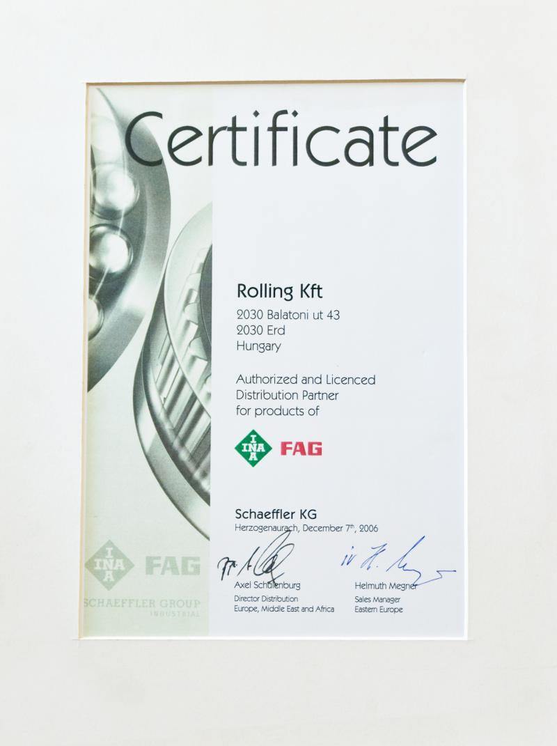 fag_ina certificate